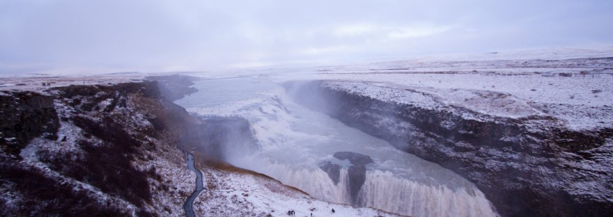 Gullfoss by Desmond Talkington