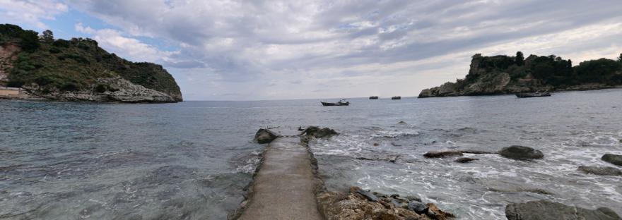 Isola Bella pier