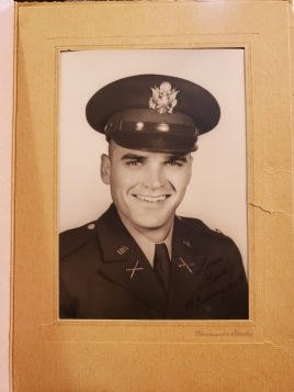 My grandpa as an enlisted man...